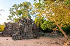 Prasat Chrong暹粒,柬埔寨 免版税图库摄影