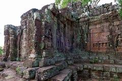 Prasat Chrong,暹粒柬埔寨2015年5月 免版税库存图片