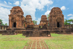 Prasat Hin Muang Tum in Buriram, Thailand. Stock Photos