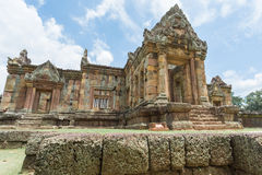 Prasat Hin Muang Tum in Buriram, Thailand. Royalty Free Stock Photography