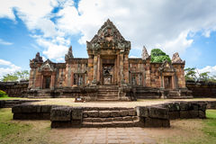 Prasat Hin Mueang Tam Hindu religious ruin located in Buri Ram Province Thailand Royalty Free Stock Photography