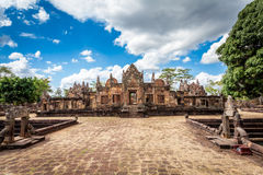 Prasat Hin Mueang Tam Hindu religious ruin located in Buri Ram Province Thailand Stock Image