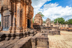 Prasat Hin Mueang Tam Hindu religious ruin located in Buri Ram Province Thailand Royalty Free Stock Photos