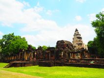 Prasat Hin Phanom obraz royalty free