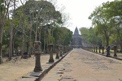 Prasat Hin Phanom Dzwonił dziejowego parka przy Tajlandia Obrazy Royalty Free