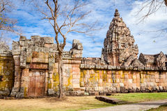 Prasat Hin Phanom Rung Hindu religious ruin located in Buri Ram Province Thailand Royalty Free Stock Photography