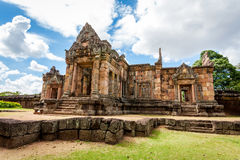 Prasat Hin Phanom Rung Hindu religious ruin located in Buri Ram Province Thailand Royalty Free Stock Photo