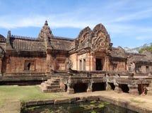 Prasat Hin Phanom Rung, Impressive Ancient Khmer Temple in Buriram Province. Of Thailand Royalty Free Stock Image