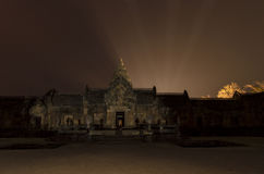 Prasat Hin Phanom Rung at night Stock Photo