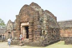 Prasat Hin Phanom sonó el parque histórico en Tailandia Imágenes de archivo libres de regalías