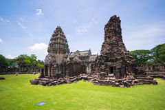 Prasat Hin Phi mai,Historical Park Phimai Khmer Sanctuary,one of important religious sanctuary,korat,thailand Stock Image