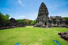 Prasat Hin Phi mai,Historical Park Phimai Khmer Sanctuary,one of important religious sanctuary,korat,thailand Stock Images