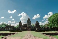 Prasat Hin Phi mai, Historical Park Phimai Khmer Sanctuary,thail Stock Image