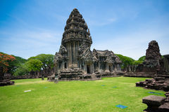 Prasat Hin Phi may , Historical Park Phimai Khmer Sanctuary,one of important religious sanctuary,korat,thailand Stock Photos