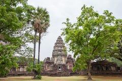 Prasat Hin Phimai,古老高棉寺庙复合体内在圣所  免版税库存图片