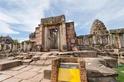 Prasat Hin Phimai (het Historische Park van Phimai) Royalty-vrije Stock Afbeelding