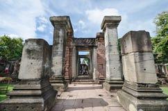 Prasat Hin Phimai (het Historische Park van Phimai) Stock Afbeelding