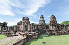 Prasat Hin Phimai (het Historische Park van Phimai) Stock Afbeeldingen