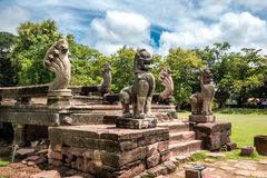 Prasat Hin Phimai Historical Park In Thailand Stock Image