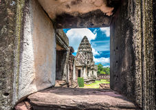 Prasat Hin Phimai Historical Park In Thailand Stock Photography