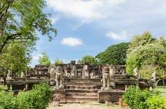 Prasat Hin Phimai (historiska Phimai parkerar), Royaltyfria Bilder