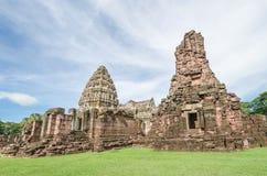 Prasat Hin Phimai (historiska Phimai parkerar), Royaltyfri Foto