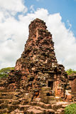 Prasat Hin Rock castle in Phimai Historical Park Nakonratchasima Stock Photos