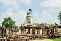 Prasat Hin Wat Phanom ωχρό στοκ εικόνες