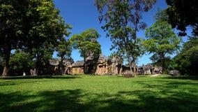 Khao Phanom Rung Historical park in Buriram, Thailand. Prasat Khao Phanom Rung Historical park in Buriram, Thailand stock video footage