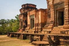 Prasat Kravan temple in Angkor abandoned city Royalty Free Stock Photography