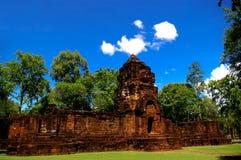 Prasat Muang canta, vecchio castello Fotografia Stock Libera da Diritti