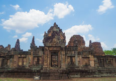 Prasat Muang Tam Fotografering för Bildbyråer
