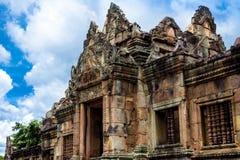 Prasat Muang Tam, ett komplex En khmer-stil för hinduisk tempel som byggs i det 10th --13thårhundradet Arkivbilder