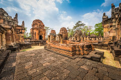 Prasat Muang Tam historical park Royalty Free Stock Images