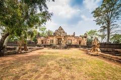 Prasat Muang Tam historical park Stock Images