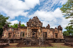 Prasat Muang Tam historical park is Castle Rock old Architecture Stock Images