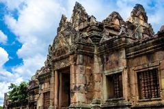 Prasat Muang Tam, a Khmer-style Hindu temple complex built in the 10th -13th century. Stock Images