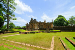 Prasat Muang Tam is a Khmer temple in Prakhon Chai district, Bur Royalty Free Stock Photo
