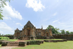 Prasat Muang Tam is a Khmer temple in Prakhon Chai district, Bur Royalty Free Stock Photography