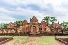 Prasat Muang Tam Sanctuary, een 1.000 jaar oude Khmer complexe tempel, Buriram-provincie, Thailand Royalty-vrije Stock Foto's