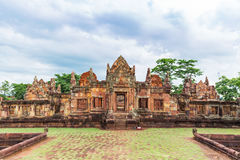 Prasat Muang Tam Sanctuary,a 1,000 years old Khmer temple complex, Buriram province ,Thailand. Prasat Muang Tam Sanctuary,a 1,000 years old Khmer temple complex Royalty Free Stock Photos