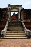Prasat Nakhon Luang, Ruin of  Ayutthaya Thailand Royalty Free Stock Images