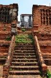Prasat Nakhon Luang, Ruin of  Ayutthaya Thailand Stock Photo