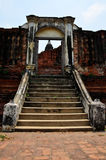 Prasat Nakhon Luang, Ruine von Ayutthaya Thailand Lizenzfreie Stockbilder