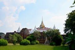 Prasat Nakhon Luang Temple Ruin of Ayutthaya Royalty Free Stock Photography