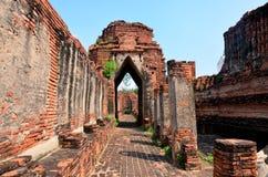 Prasat Nakhon Luang Temple Ruin of Ayutthaya Royalty Free Stock Image