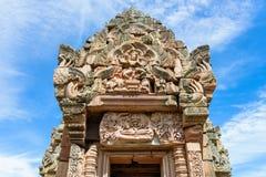 Prasat Phanom звенело, старый комплекс виска Кхмер-стиля в провинции Buriram, Таиланде стоковое фото rf