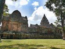 Prasat Phanom阶 免版税图库摄影