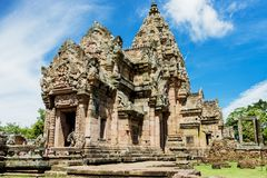 Prasat Phanom Rung, an ancient Khmer-style temple complex in Buriram Province, Thailand Royalty Free Stock Photography