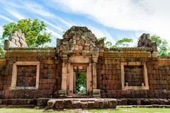 Prasat Phanom Rung, an ancient Khmer-style Hindu temple complex in Buriram Province, Thailand Stock Photography